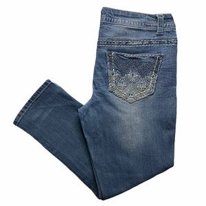 PAISLEY SKY Distressed Women's Jeans Size 10